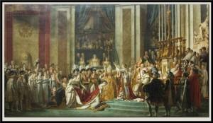 couronnement joséphine