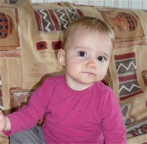 Bon, elle a déjà été plus souriante, mais, c'est pas pour dire, qu'elle est belle, presqu'autant que sa mère !